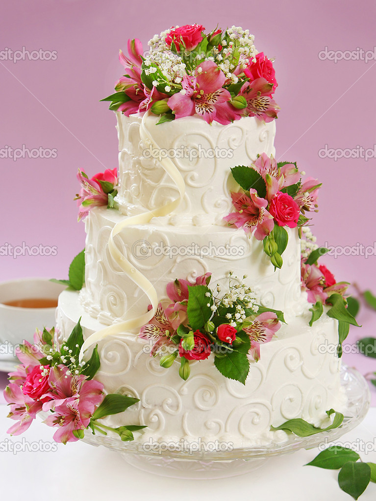 Самые красивые торты с цветами